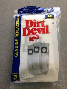 dirt devil vacuum cleaner bags